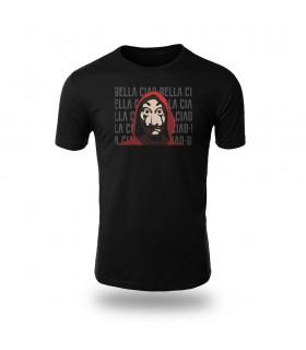 تی شرت Money Heist Mask - طرح سه