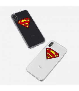 قاب موبایل Superman - طرح دو  کد SHDC008