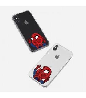 قاب موبایل Spiderman - طرح دو کد SHM021