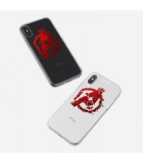 قاب موبایل Avengers - طرح شش کد SHM024
