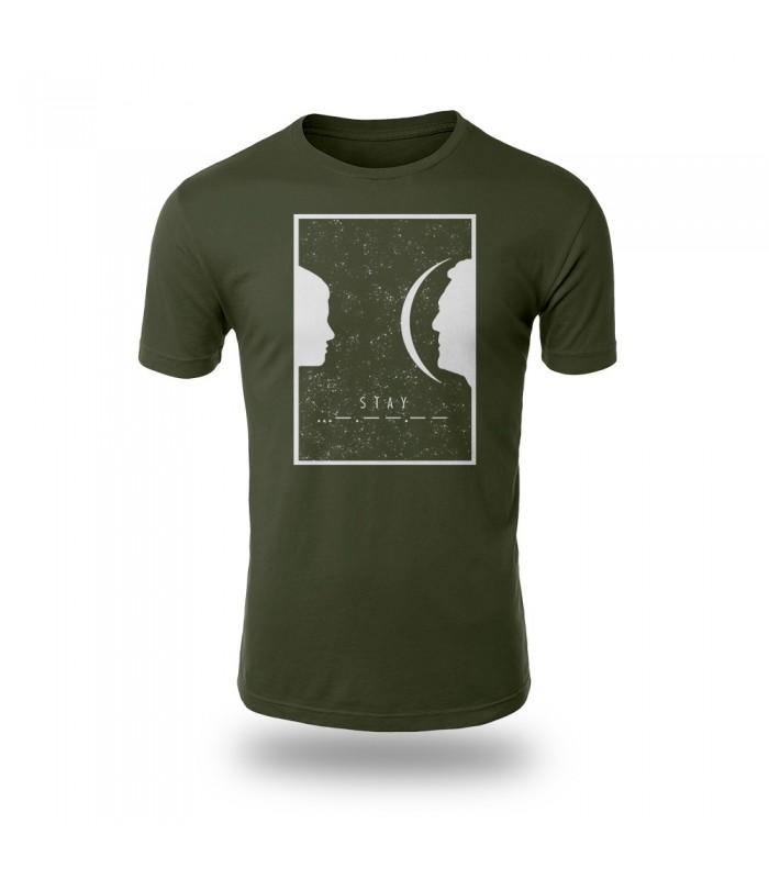 تی شرت Stay - طرح یک