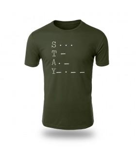 تی شرت Stay - طرح سه