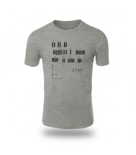 تی شرت Stay - طرح دو